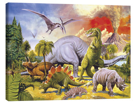 Lienzo  Land of the dinosaurs - Paul Simmons
