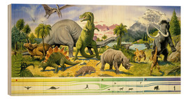Paul Simmons - Land of the dinosaurs