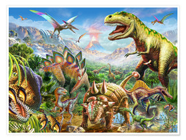 Póster  Dino Group - Adrian Chesterman