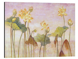 Cuadro de aluminio  Yellow lotus - Ailian Price