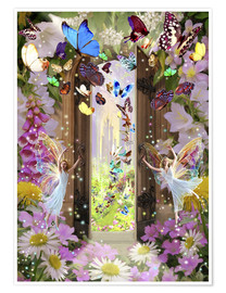 Póster  Fairy door - Garry Walton