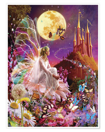 Póster  Fairy dreams - Garry Walton