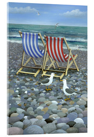 Cuadro de metacrilato  Deck Chairs - Peter Adderley