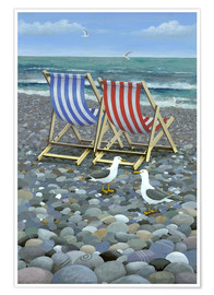 Póster Deck Chairs