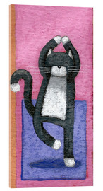 Cuadro de metacrilato  Yoga for Cats - Peter Adderley