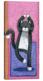 Lienzo  Yoga for Cats - Peter Adderley