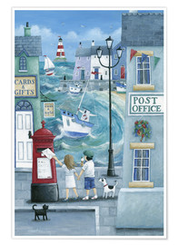 Póster  Harbour Post - Peter Adderley