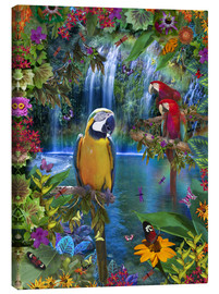 Lienzo  Bird Tropical Land - Alixandra Mullins