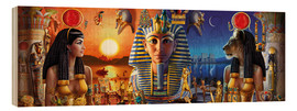 Madera  Egyptian Triptych 2 - Andrew Farley