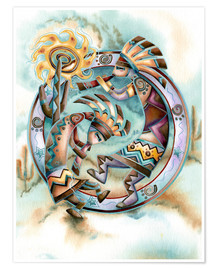 Póster  Happy dance - Jody Bergsma