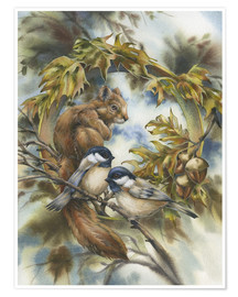 Póster  Some of my best friends - Jody Bergsma