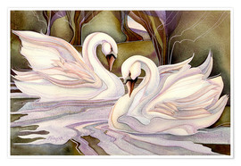 Póster  Together through life - Jody Bergsma