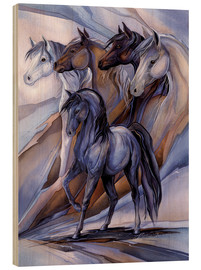Cuadro de madera  Inspired by the five winds - Jody Bergsma