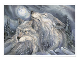 Póster  Love is the beginning - Jody Bergsma