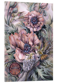 Cuadro de metacrilato  Love is life sweetest flower - Jody Bergsma