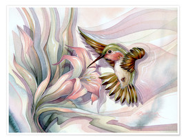 Póster  Spread your wings - Jody Bergsma