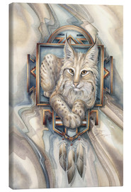 Lienzo  Magic of Lynx - Jody Bergsma