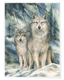 Póster  Guardians of the Silent Night - Jody Bergsma