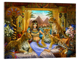 Metacrilato  Egyptian Queen of the Leopards - Jan Patrik Krasny
