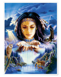 Póster Sacred waters