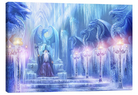 Lienzo  The ice palace - Dragon Chronicles