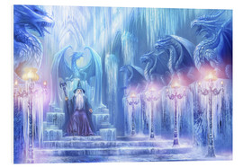 Cuadro de PVC  The ice palace - Dragon Chronicles