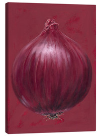 Lienzo  Red onion - Brian James