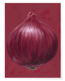 Póster  Red onion - Brian James