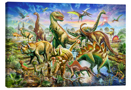 Adrian Chesterman - Assembly of dinosaurs