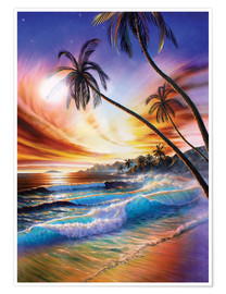 Póster Tropical beach