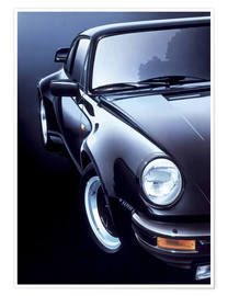 Póster  Black Porsche turbo - Gavin Macloud
