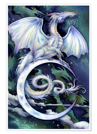 Póster  Touch the moon - Jody Bergsma