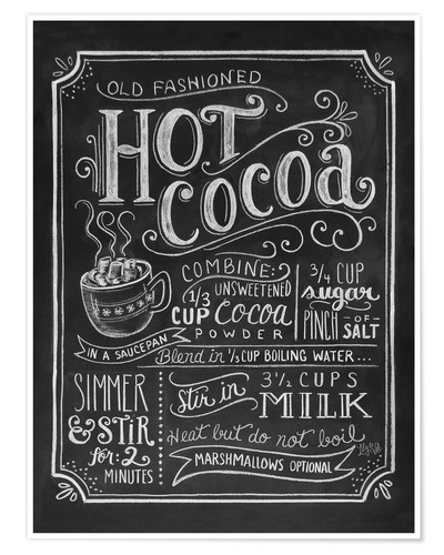 Póster Hot Cocoa
