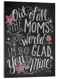 Cuadro de metacrilato  The best mom of the world - Lily & Val