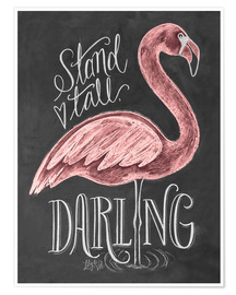 Póster  Stand Tall, Darling - Lily & Val