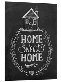 Cuadro de PVC  Home Sweet Home - Lily & Val