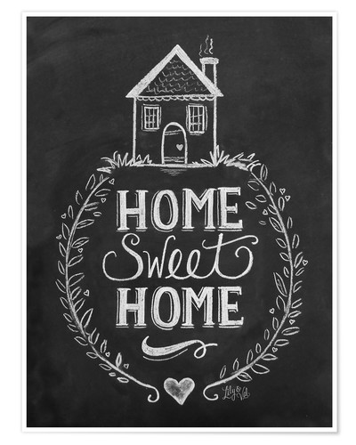 Póster Home Sweet Home