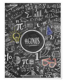 Póster  Genius - Lily & Val