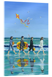 Cuadro de metacrilato  Abbey Road Beach - Peter Adderley