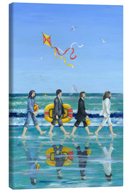 Lienzo  Abbey Road Beach - Peter Adderley