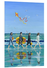 Cuadro de PVC  Abbey Road Beach - Peter Adderley