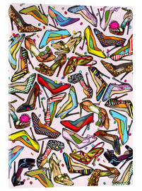 Cuadro de metacrilato  Shoe Crazy - Lewis T. Johnson