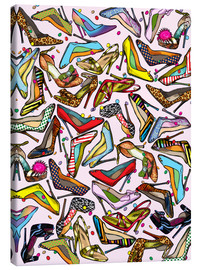 Lienzo  Shoe Crazy - Lewis T. Johnson