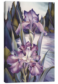 Lienzo  Lady of the lake - Jody Bergsma
