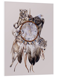 Cuadro de PVC  Dream catcher - Jody Bergsma