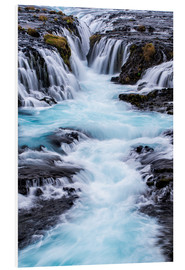 Forex  Bruarfoss, waterfalls flow into the river - Dennis Kirkland