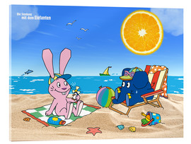 Cuadro de metacrilato  Elephant and Hare go on holiday
