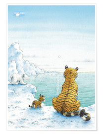 Póster  The Little Polar Bear with friends