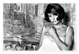 Póster  TIME OF INDIFFERENCE, Claudia Cardinale