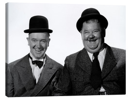 Lienzo  Laurel and Hardy: Nothing but trouble